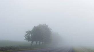 """Мъгла затруднява движението по АМ """"Струма"""" в участъка при Сандански"""