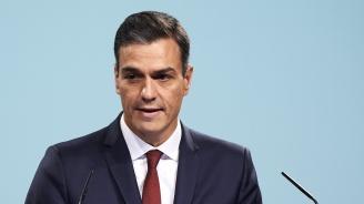 Испанският премиер  първият партиен лидер, гласувал на парламентарния вот
