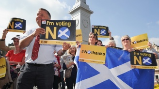 Повечето шотландци  биха подкрепили независимостта ѝ, ако настъпи Брекзит без споразумение