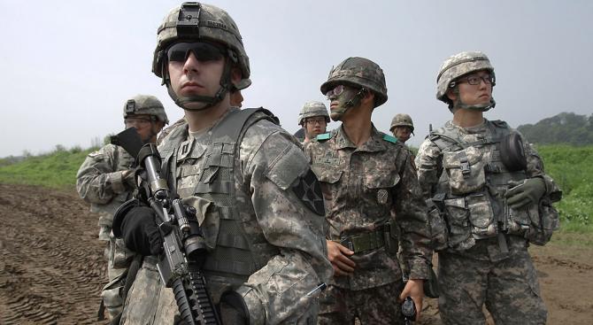 Глобалните военни разходи миналата година са достигнали най-високото си равнище