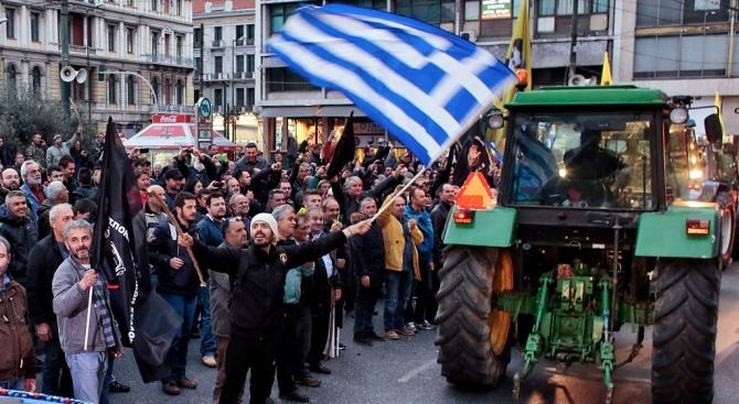 24-часова транспортна стачка е обявена в Гърция на 1-ви май