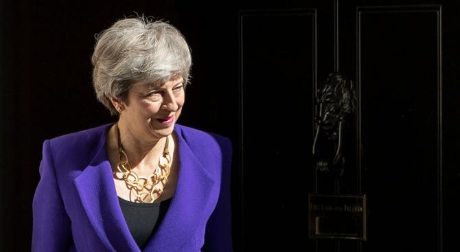Британската министър-председателка Тереза Мей заяви днес, че произведените вчера местни