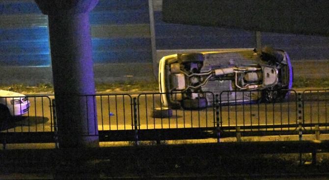 """Шофьор помете и уби служител на """"Пътна помощ"""" на столичното Околовръстно"""
