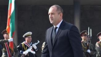 Румен Радев поздравява българите по случай Международния празник на труда