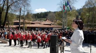Караянчева: Когато погледнем Копривщица, винаги разпознаваме един от символите на нашата култура