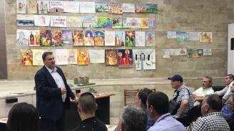 Емил Радев: Ще съдействам да популяризираме в Брюксел старините на Велики Преслав
