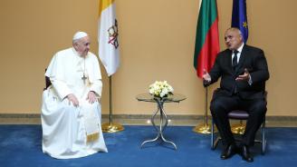 Борисов: Посещението на папата е една безплатна реклама за България. Той ми благодари за свършеното за Западните Балкани