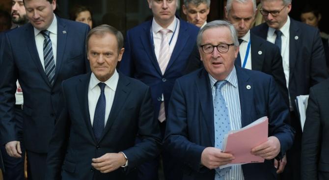 """Председателят на Европейската комисия Жан-Клод Юнкер окачестви като """"напълно неприемливо"""""""
