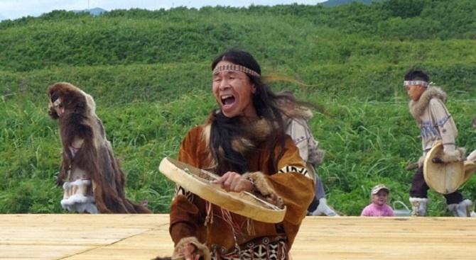 Шамани, живели в Южна Америка преди около хиляда години, са