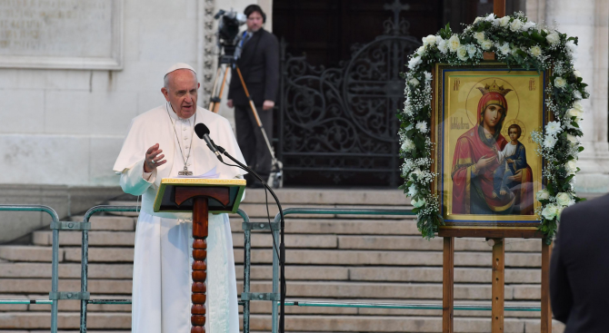 Русенският митрополит: С какво ни застраши папа Франциск?