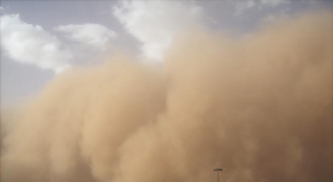 Силна пясъчна буря погълна град в Австралия