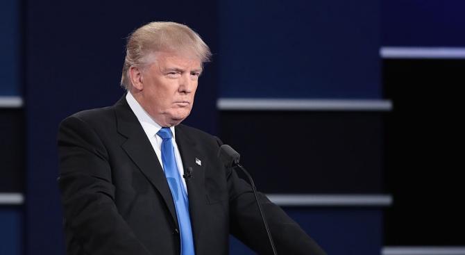 Президентът на САЩ Доналд Тръмп упражни пълномощията си като шеф