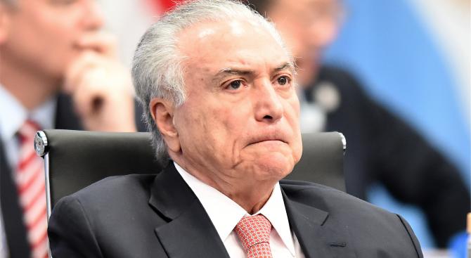 Бразилски съд постанови бившият президент Мишел Темер да бъде върнат
