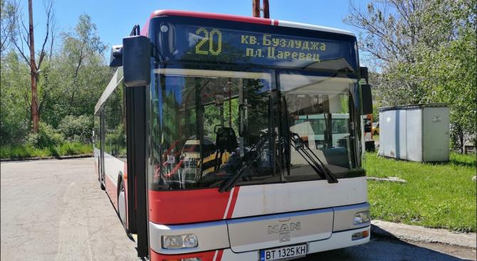 Ползвателите на градския транспорт във Велико Търново от няколко дни