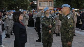 Караянчева в Пещера: И днес е нужно да бъдем единни, да имаме общи национални цели, да съхраняваме идеалите на предците ни
