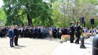 Емил Радев и депутати от ГЕРБ присъстваха на тържествата, с които Варна отбеляза 6 май
