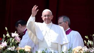 Посрещнаха папа Франциск с хляб и сол в Скопие