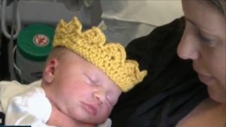 Американска болница даде корони на всички новородени в чест на кралското бебе