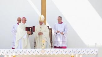 Папата в Скопие: Подкрепям ви за избрания път