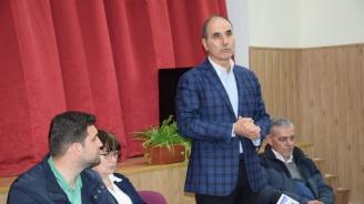 Цветанов в с. Бойница: Няма малко и голямо населено място - всички градове и села се модернизират благодарение на европейската солидарност
