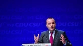 Вебер: През последните години Турция се отдалечи от ценностите на Европа