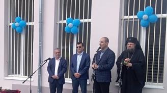 Цветанов откри новоизградена спортна площадка и ремонтирана спортна зала във врачанското село Згориград