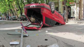 15 ранени прикатастрофи през изминалото денонощие
