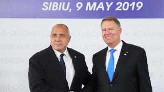 Румънският президент посрещна Борисов в Сибиу