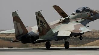 Военни самолети прелетяха над Тел Авив