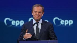 Туск: ЕС следи конфликта между Турция и Кипър