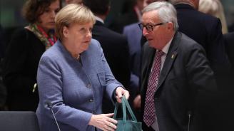 Меркел и Юнкер са сдържани към новата инициатива на Макрон за климата