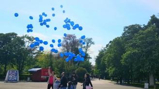По случай Деня на Европа МГЕРБ-Бургас пуснаха във въздуха 109 балона с послания за ЕС