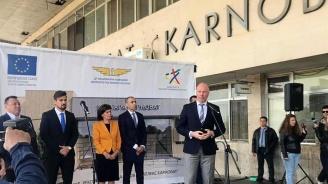 Росен Желязков даде старт на реконструкцията на жп гара Карнобат