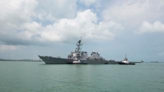 Саудитски кораб напусна френско пристанище след твърдения, че ще товари оръжия