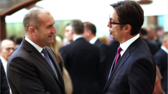 Румен Радев: Поканих президента на Северна Македония да ни гостува в България