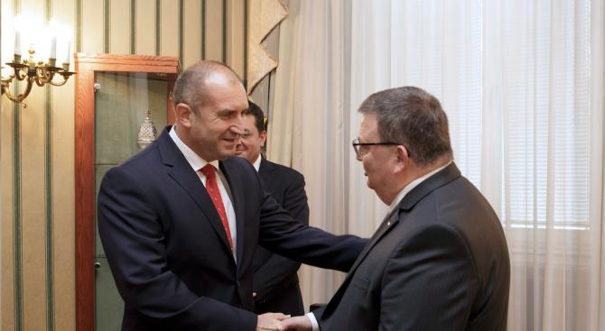Румен Радев очаква прозрачна процедура за избор на следващия главен прокурор