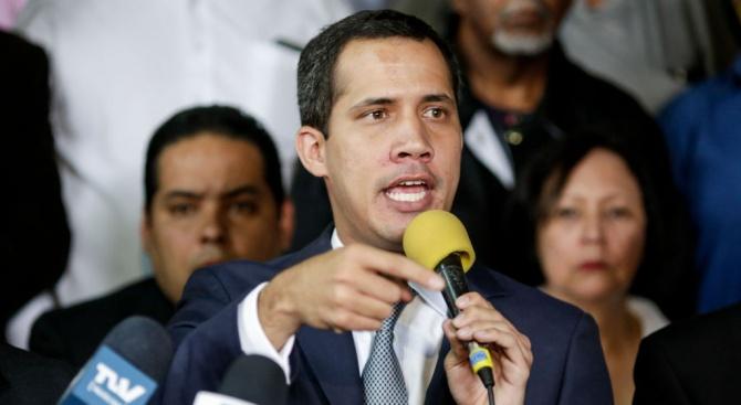 Представител на самопровъзгласилия се за временен президент на Венецуела Хуан