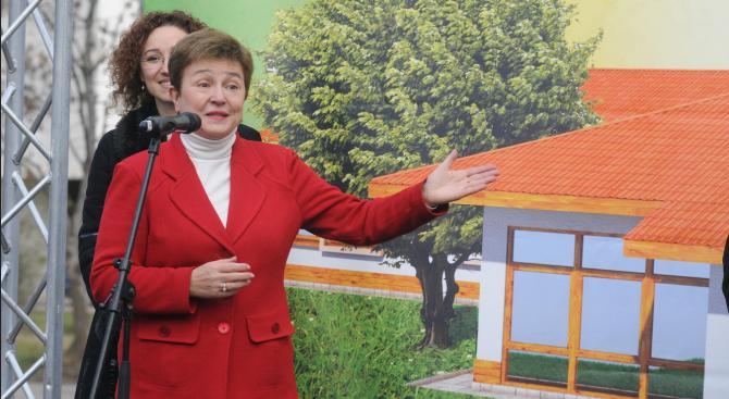 В Сибиу обсъдили името на Кристалина Георгиева за председател на ЕК?