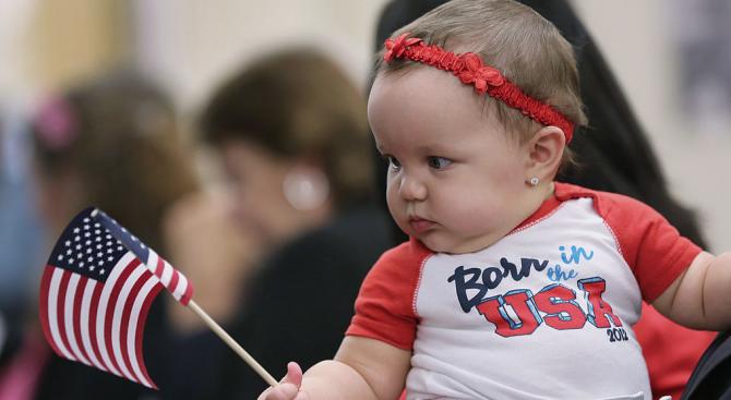 Броят на ражданията в САЩ се е понижил още през