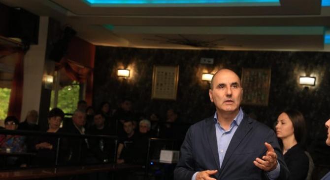 """Цветан Цветанов: Изграждането на АМ """"Хемус"""" до Велико Търново е необратим процес"""