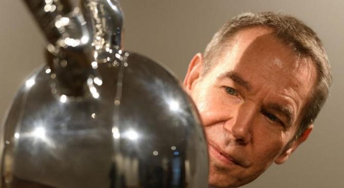 """Скулптурата """"Заек"""" на американския художник Джеф Кунц беше продадена на"""
