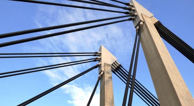Президентът на Египет Абдел Фатах ас Сиси откри висящ мост