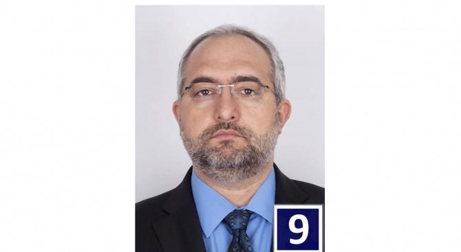 Водачът на листата за Европейски парламент арх. Емил Мечикян от
