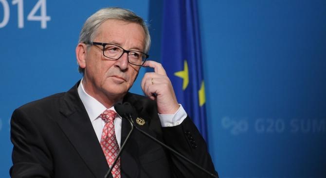 Председателят на Европейската комисия Жан-Клод Юнкер каза днес, че е