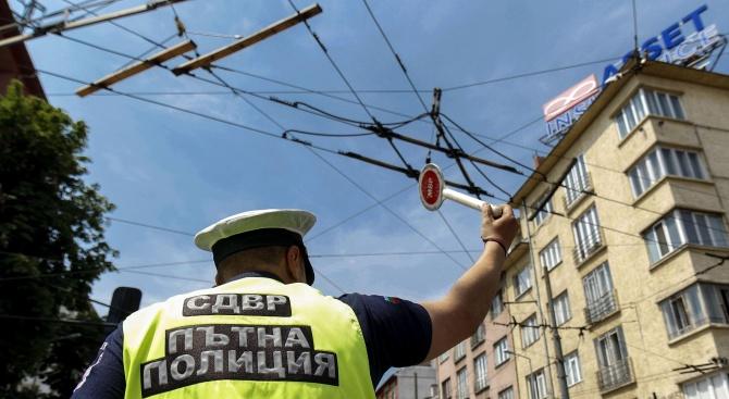 Въвежда се временна организация на движението в София. Това съобщиха