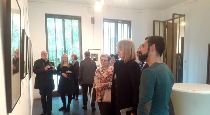 """Йорданка Фандъкова откри изложбата """"В сърцето на София"""" във Виена"""