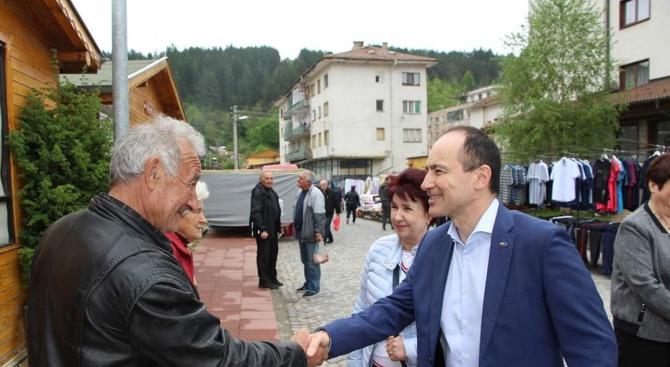 Андрей Ковачев: В Трън виждаме европейската солидарност в действие