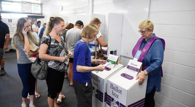 В Австралия се провеждат парламентарни избори