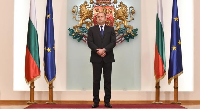 На 30 май 2019 г. президентът Румен Радев ще бъде