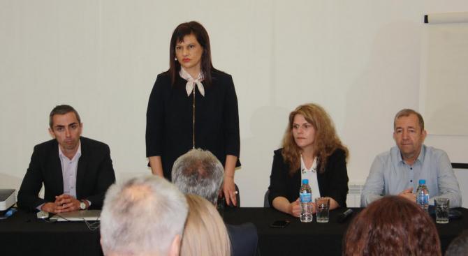 Даниела Дариткова в Сливен: Когато говорим за реформа в здравеопазването, трябва да търсим максимален консенсус
